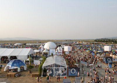 O2, Letné festivaly