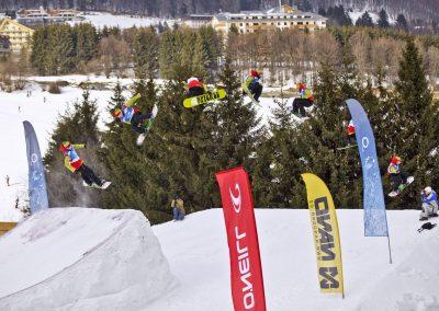 O2, Snowboard tour